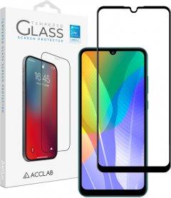 Защитное стекло ACCLAB Full Glue для Huawei Y6p Black (1283126508301)