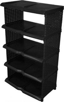 Полка для обуви Proff 31x48x85 см Черный (PF2601819)