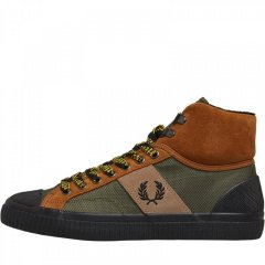 Кеди Fred Perry Hughes Mid Hike Poly/Suede Ginger Tan, 39 (11042260)