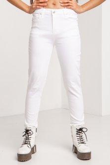 Джинси Denim жіночі 29 Білий (4014360)