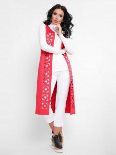 Накидка Fashion Up Abstract KD-1644B 42 Красная (3000000014141)