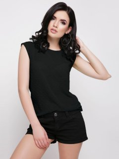 Блуза Fashion Up Point FB-1624E 42 Черная (3000000012482)