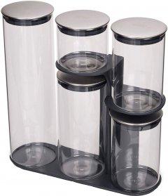 Набор емкостей для сыпучих продуктов Joseph Joseph Podium 100 5 шт (JJ_95035)