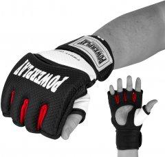Перчатки для MMA PowerPlay 3075 S Черно-белые (PP_3075_S_Bl/White)