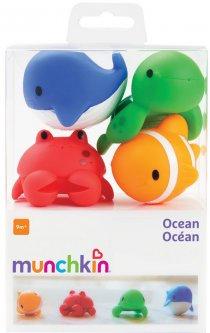 Игрушечный набор для ванны Munchkin Океан 4 шт (01110301) (5019090111034)