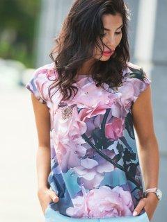 Блузка Dressa 10250 48 Разноцветная (2000000461786)