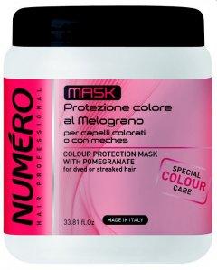 Маска для защиты цвета волос Brelil Numero С экстрактом граната 1000 мл (8011935075058)