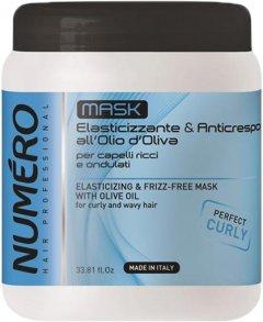 Маска для вьющихся волос Brelil Numero На основе оливкового масла 1000 мл (8011935075102)