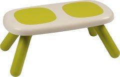 Лавочка без спинки детская Smoby Toys Зеленая (880301) (3032168803015)