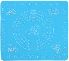 Коврик для раскатывания и выпечки теста Supretto 29х26 см Голубой (4769-0001)
