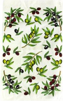 Махровое полотенце IzziHome Оливки 30х50 (2200000546814)