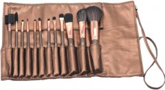 Набор кистей для макияжа Supretto 12 шт (5517) (2000100035115)