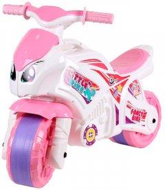 Беговел ТехноК Мотоцикл Бело-розовый (5798) (4823037605798)