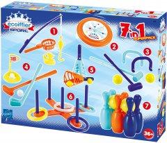 Набор игр Ecoiffier 7 видов спорта (189) (3280250001898)