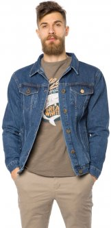 Джинсовая куртка MR520 MR 102 1661 0219 S Dark Blue (2000099784940)