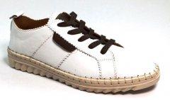 Кеди жіночі білі Nostalji 542-19660-1061 37