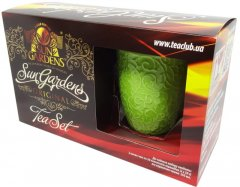 Набор Sun Gardens Чай черный байховый Golden Blend + Чай зеленый байховый с саусепом + Чашка 350 мл (SG 189) (4820082707538)