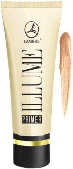 База под макияж Lambre Illume Primer Осветляющая 01 перламутровый загар 30 мл (3760183766307)
