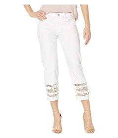 Джинси Liverpool Sadie Crop Straight w/ Lace Hem Inset in Bright White White, XS (40) (10338366)