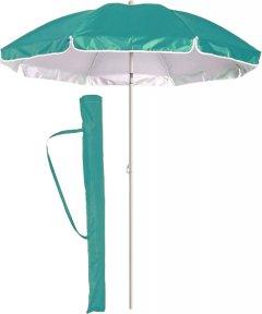 Зонт пляжный усиленный с наклоном Kodor Anti-UV 2.0 антиветер система Ромашка Бирюзовый (ЗП200ромбир)