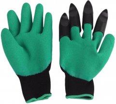 Садовые перчатки Garden Genie Gloves 1 пара с когтями (4670)