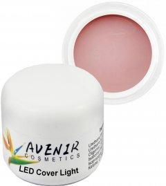 Гель для наращивания ногтей Avenir Cosmetics LED Cover Light 50 мл (5900308133163)
