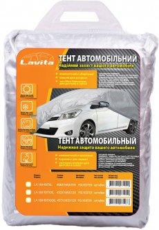 Тент автомобильный Lavita Polyester XL Hatchback Серый (LA 104107XL)