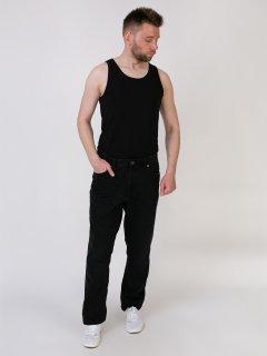 Чоловічі джинси утеплені LIVERGY 54 чорний M22-170076