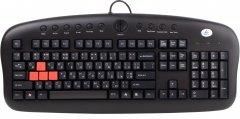 Клавиатура проводная A4Tech KB-28G PS/2 (4711421708456)