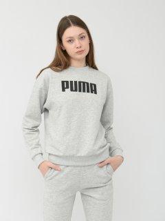 Свитшот Puma ESS Crew Sweat TR 85480003 S Light Gray Heather (4059507736024)
