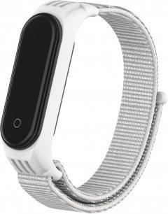 Ремешок ArmorStandart Sport Loop для Xiaomi Mi Band 6/5 White (ARM56873)