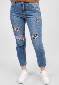 Жіночі джинси New Dgeans 8302 синій 25