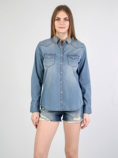 Рубашка джинсовая Colin's CL1043864DN00977 S (8681597879327)