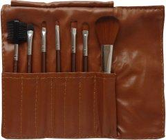 Набор кистей для макияжа Avenir Cosmetics Бронзовый 7 шт (2009610005809)
