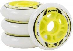Колеса для роликовых коньков SFR Inline Wheels 80/82A White 4 шт (SFR500-80)