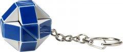 Головоломка Rubiks Змейка Бело-голубая с кольцом (RK-000146) (6900006514881)