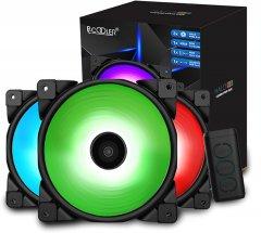 Набор PcCooler RGB-вентиляторов Halo 3-in-1 RGB KIT