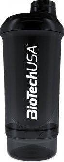 Шейкер Biotech Wave+ Compact shaker 500 мл + 150 мл Черная пантера (5999076220694)