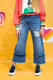 Джинси A-yugi Jeans 158 см Синій (2125000589718)