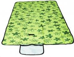 Раскладной коврик для пикника Supretto 145х80 см Зеленый (5534-0002)