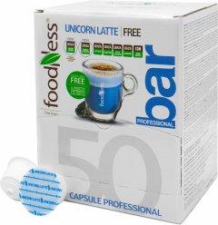 Кофейный капсульный напиток Foodness Латте Единорога со спирулиной 50 капсул Dolce Gusto по 14 г (8031848004938)