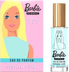 Парфюмированная вода для девочек Bi-es Barbie Iconic Sunshine Livin' 50 мл (5902734849502)