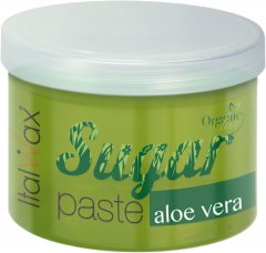 Сахарная паста ItalWax Organic line с Алоэ-вера в банке 750 мл (8032835165090)