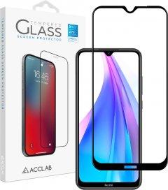 Защитное стекло ACCLAB Full Glue для Xiaomi Redmi Note 8Т Black (1283126508776)