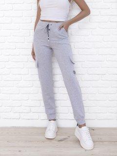 Спортивные штаны ISSA PLUS 9980 S Светло-серые (2000443535631)