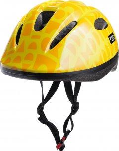 Велосипедный детский шлем Green Cycle Flash 50 - 54 см Желтый (HEL-82-53)
