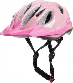 Велосипедный детский шлем Green Cycle Frida 50 - 56 см Розовый (HEL-47-36)