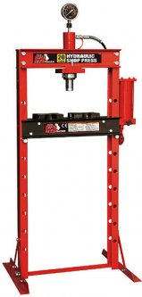 Пресс Torin гидравлический с вертикальным расположением насоса 20 т (TY20001)