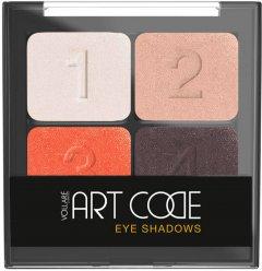 Тени для век Vollare Cosmetics Art Code с кисточкой №7 5.5 г (5902026642934)