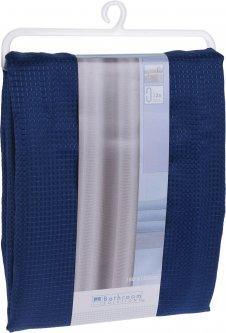 Шторка для ванной Bathroom solutions 180х180 см Blue (CY2210440_blue)